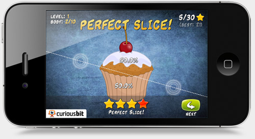 Perfect Slice iPhone