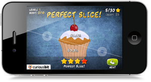 Perfect Slice on iPhone